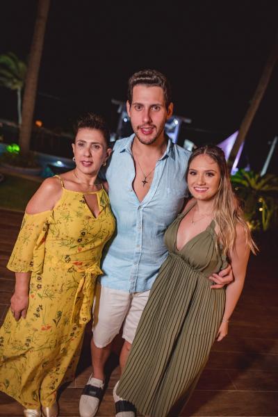 Regina Dias Branco , Gabriel Dias Branco e Leticia Teixeira