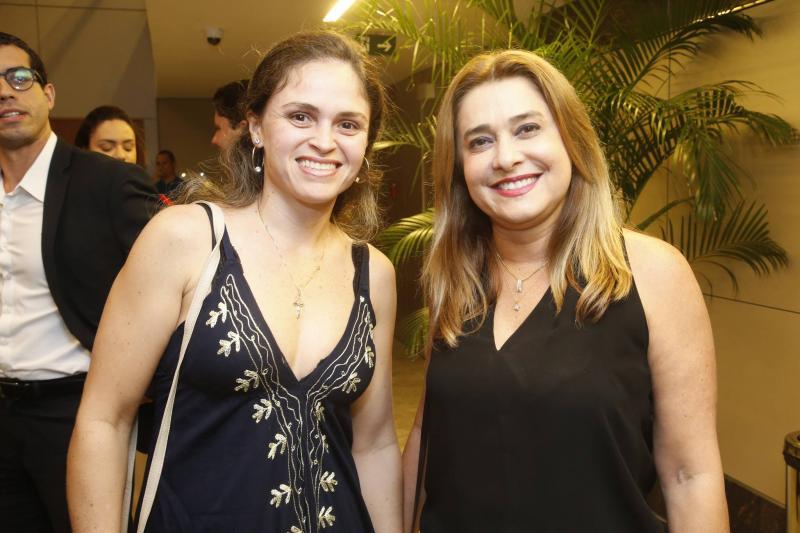Ingue Ribeiro e Adriana Hissa