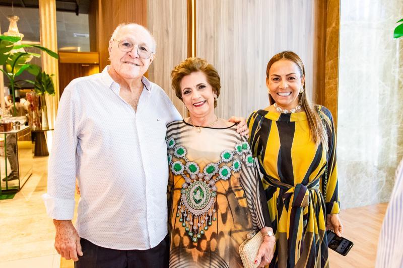 Luis Marques, Regina Aragao e Gil Santos