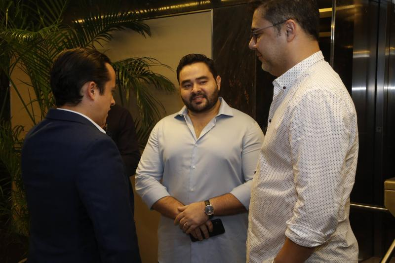 Yuri Veras, Robson Magalhaes e Gustavo Cruz