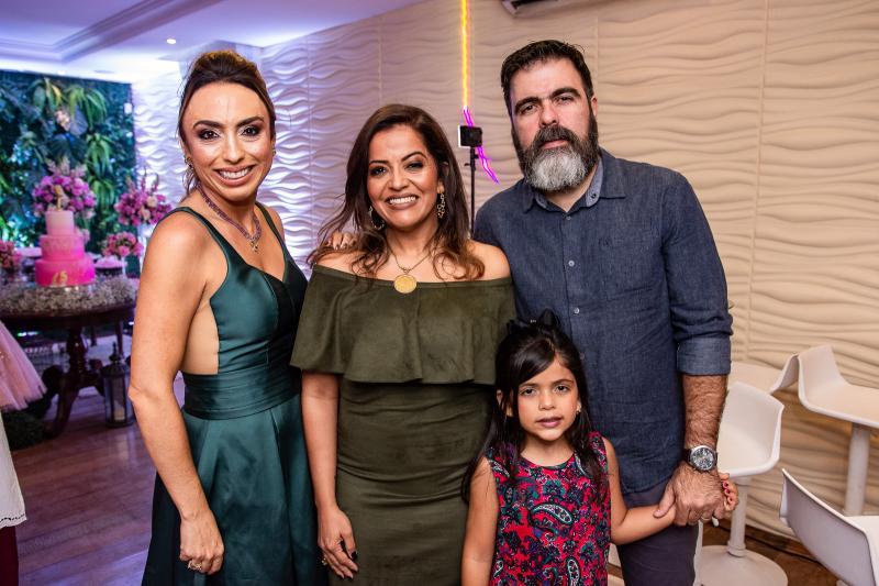 Mabel Portela, Patricia Araujo, Eduarda Chequer e Eduardo Cysne