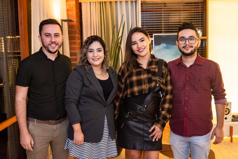 Junior Facanha, Kesia Facanha, Julia Brenda e Walison Queiroz