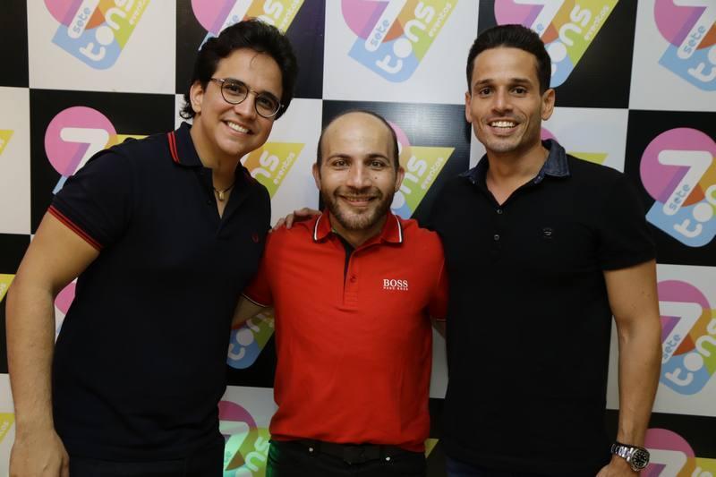 Panta Neto, Carlinhos Aristides e Rafael Sa