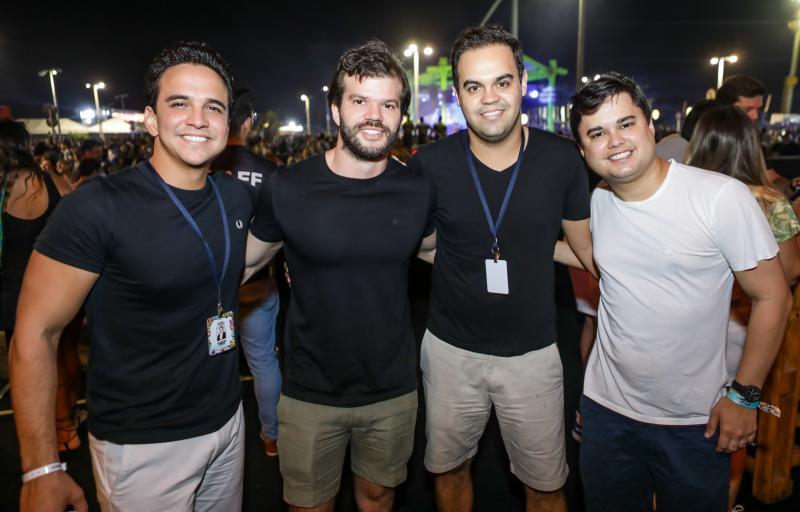 Panta Neto, Vitor Aragao, Ivo Dias e Ricardo Freitas