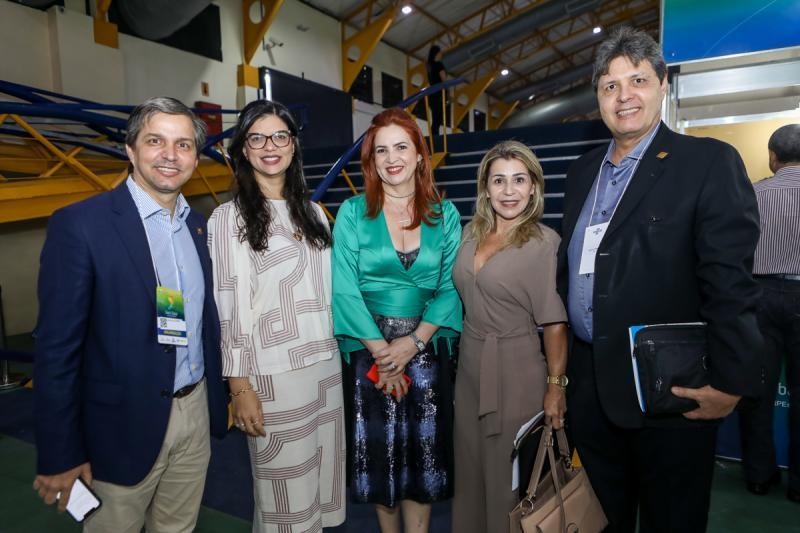 Romulo Soares, Karina Frota, Enide Camara, Monica e Marcos Verissimo