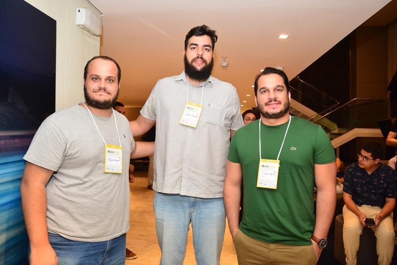 Ricardo Cavalcanti, Miguel Carvalho e Victor Monteiro