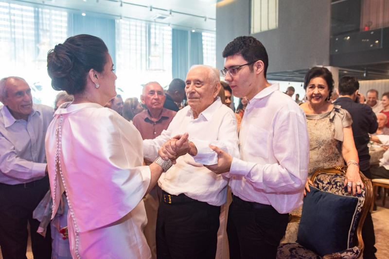 Silvana, Adauto e Arthur Bezerra