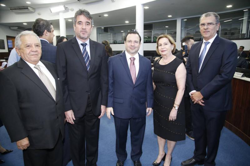Francisco Alves, Jose Maria Gondim, Igor Barroso, Fatima Veras e Radal Pompeu
