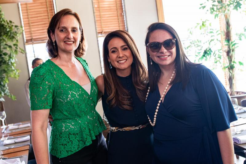 Carol Belchior, Claudiana Loureiro e Claudia Pinheiro