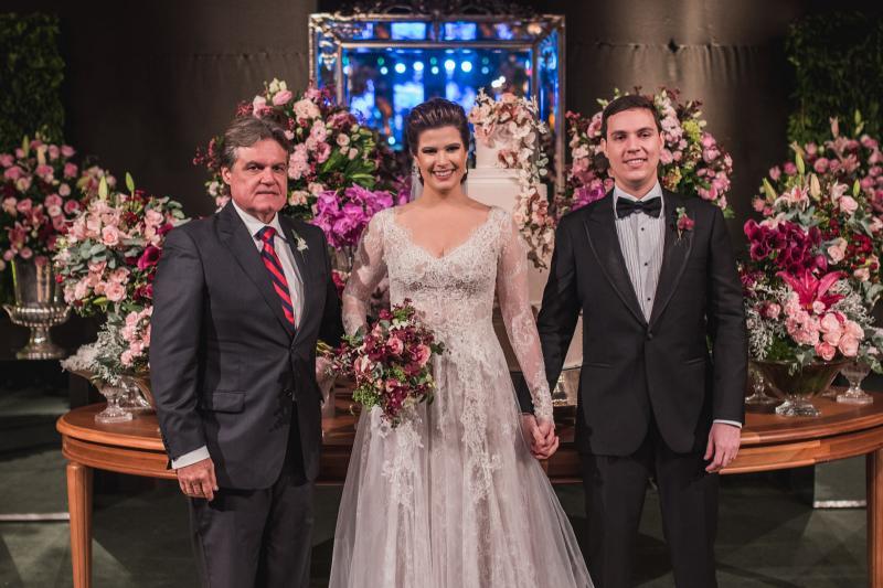 Paulo Miranda, Ana Maria Bezerra e Paulo Victor Eufrasio