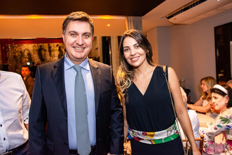 Fernando Campana e Camila Lazeri