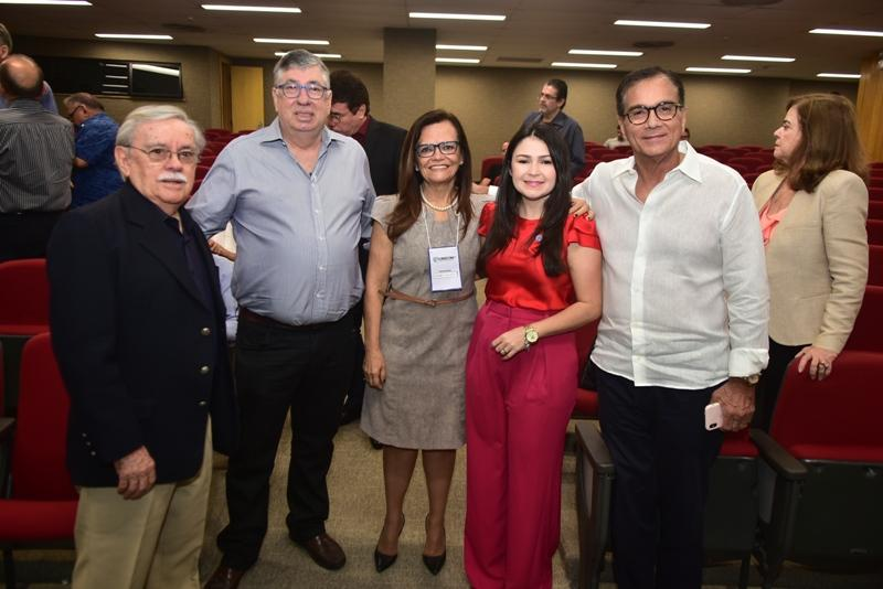 Raimundo Padilha, Maia Junioor, Izabel Colares, Darla Lopes, Beto Studart