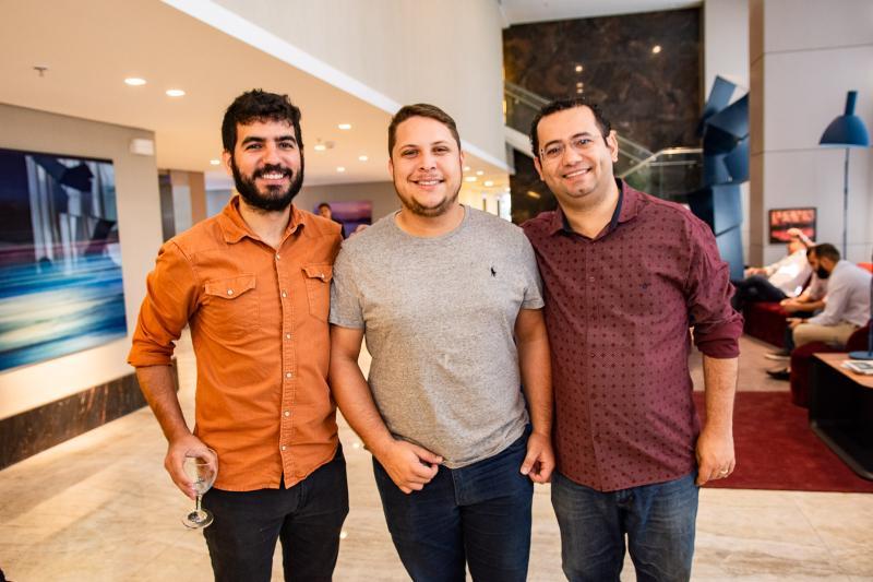 Joao Escossio, Jose Mota e Anderson Batista