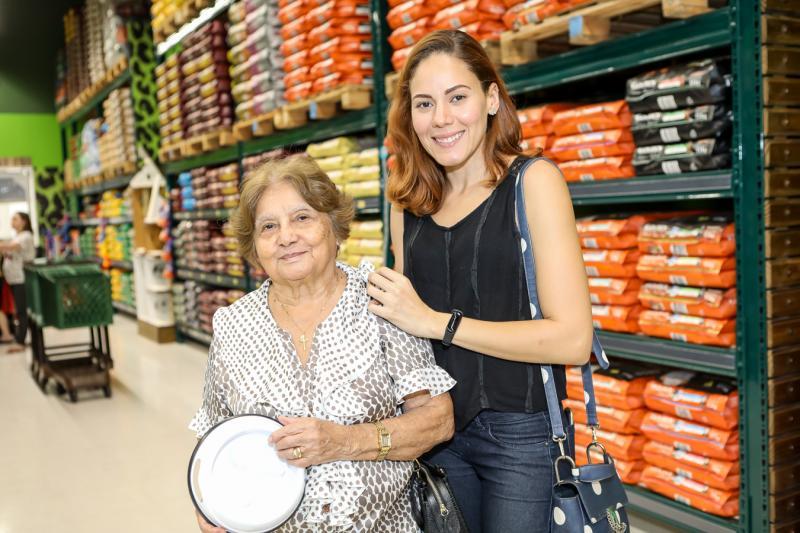 Socorro Souza e Amanda Matos