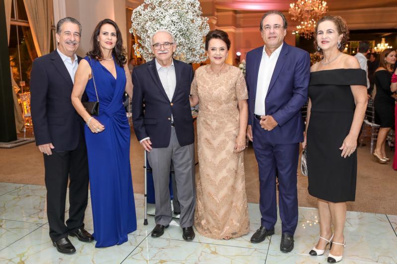 Emilio e Cristine Ary, Ednilton e Leninha Soares, Claudio e Sandra Brasil