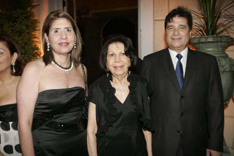 Marcia, Rozita Jereissati e Joao Jaime