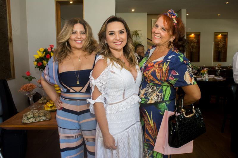 Montiele Arruda, Socorro Medeiros e Fatima Duarte