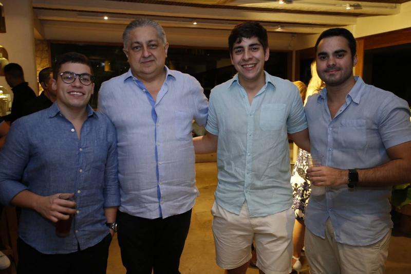 Valdomiro Tavora Neto, Adriano Pinto, Magno Faria e Gabriel Fontenele