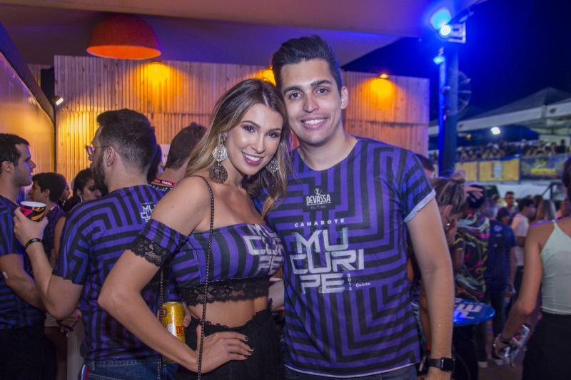 Alexia Duarte e Caio Teixeira