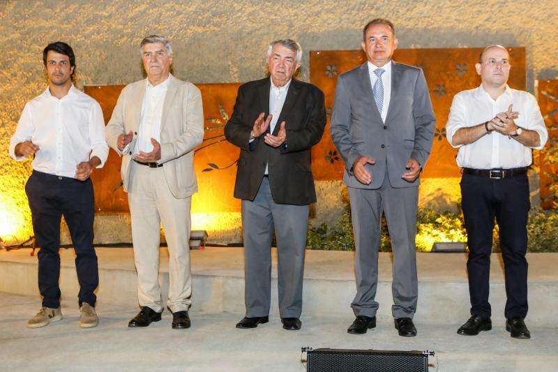Bruno, Amarilio e Roberto Macedo, Washington Araujo e Roberto Claudio