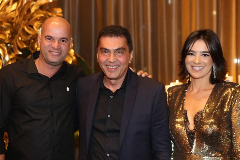 Gil Cidrim,, Idezio e Maryana Rolim