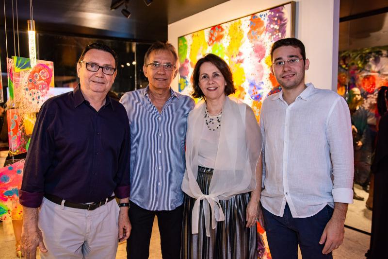 Carlos Rubens, Davi Perdigao, Ana Elisa Perdigao e Igor Vale