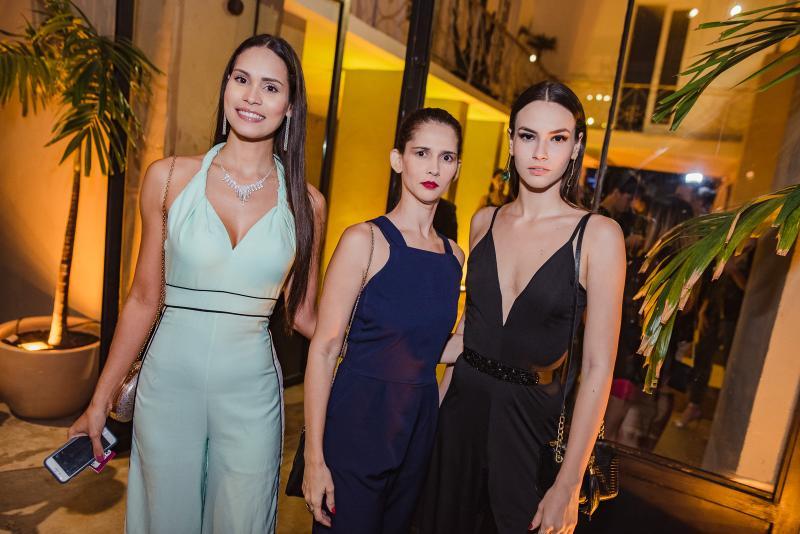 Jade Oliveira, Natalia Franklin e Isabela Franklin