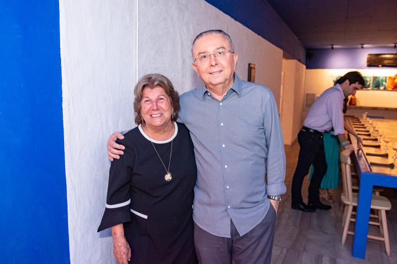 Ana Lucia Mota e Jose Melo
