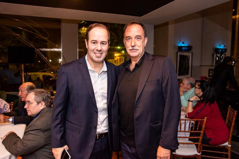 Cesar Ribeiro e Armando Abreu