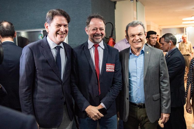 Cid Gomes, Acrisio Cenae e Jose Sarto