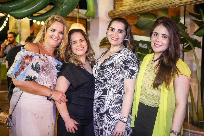 Rosane Aguiar, Renata Praciano, Germana Dantas e Gisele Farias