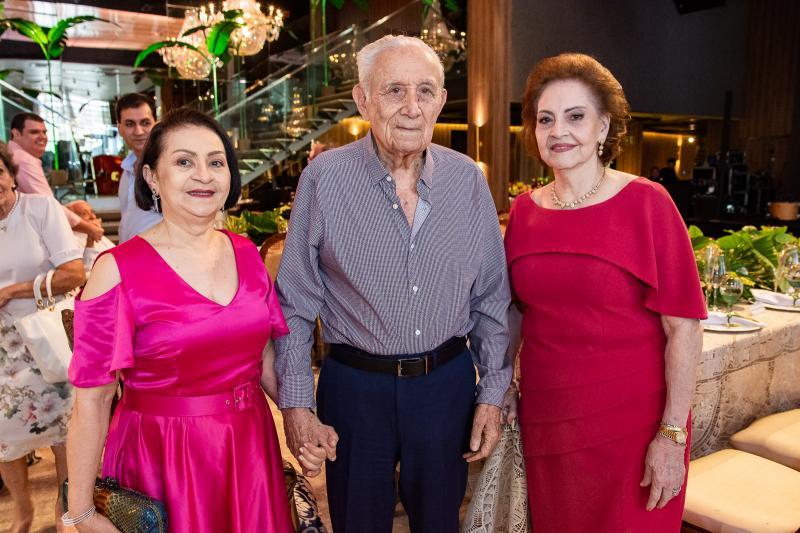 Iris Lima, Humberto Bezerra e Norma Bezerra