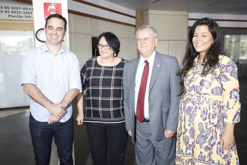 Capitao Wagner, Damares Alves, Antonio Fernandes e Priscila Costa 1