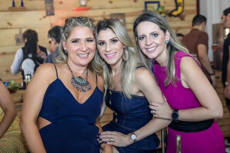 Patriciana Rodrigues, Patricia Jereissate e Aline Amorin