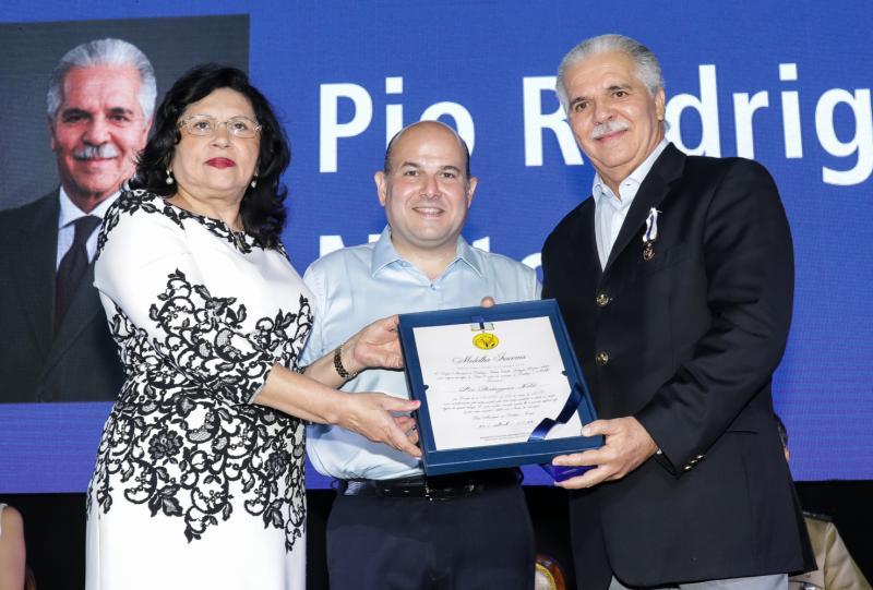 Nailde Pinheiro, Roberto Claudio e Pio Rodrigues