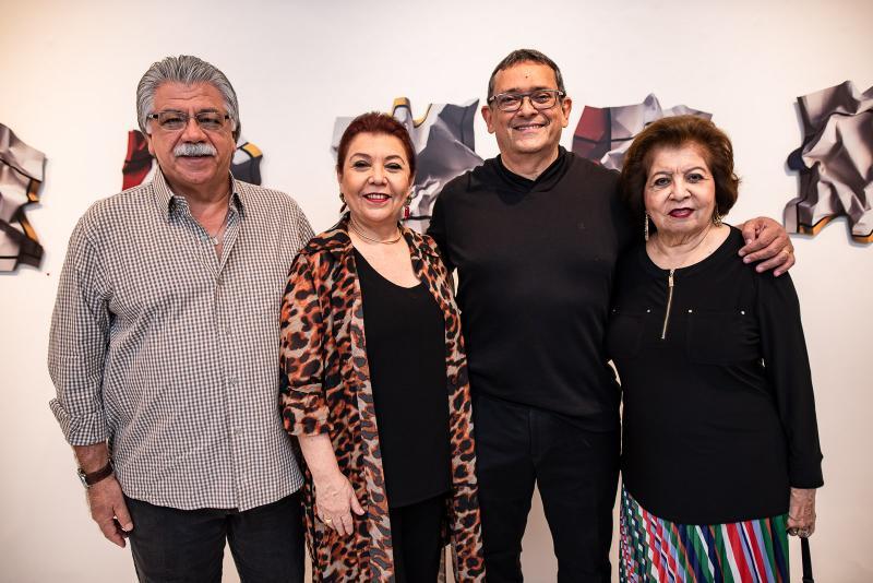 Elder Castro, Isabel Castro, Jose Guedes e Edyr Rolim