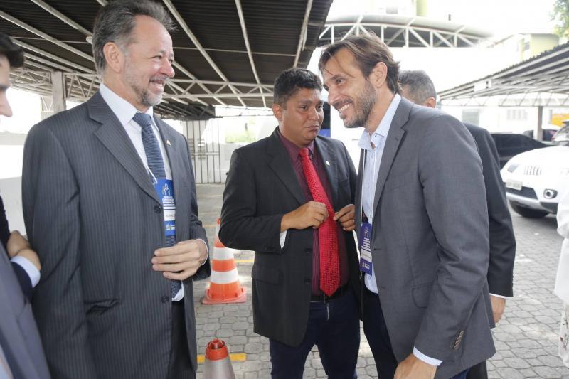 Acrisio Sena, Jonny Monteiro e Guilherme Sampaio