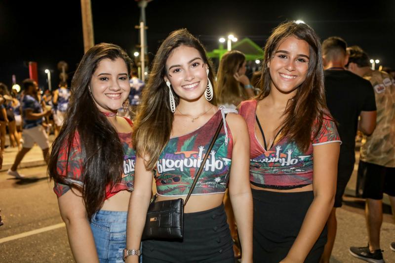 Talita Teofilo, Livia Arruda e Lia Lima