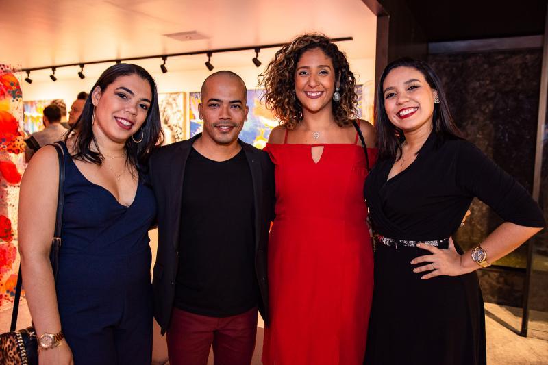 Amanda Lopes, Assis Filho, Luciana Castro e Luana Bastos