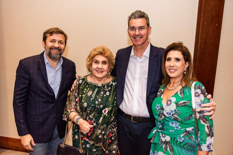 Elcio Batista, Consuelo Dias Branco, Geraldo Luciano e Regina Dias Branco
