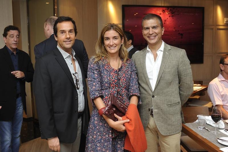 Luiz Bick, Marina Linhares e William Simonato