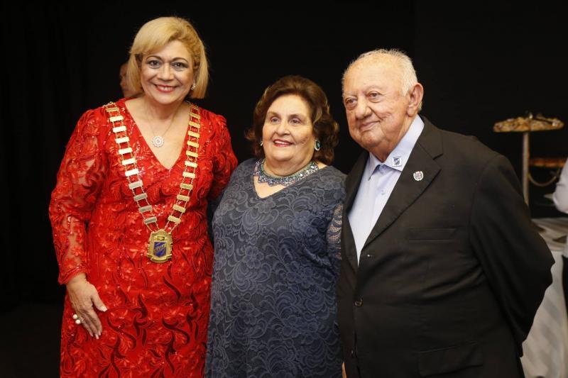 Priscila Cavalcante, Darcila e Francisco Austragesilo