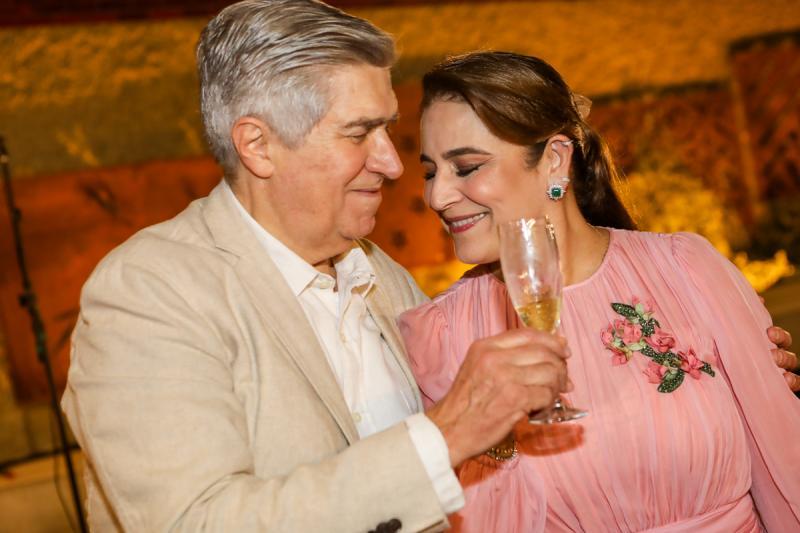 Amarilio e Patricia Macedo