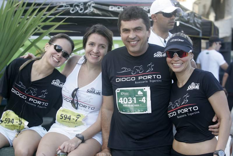 Juliana Bernal, Marina Baquit, Idesio Rolim e Carol Barreira