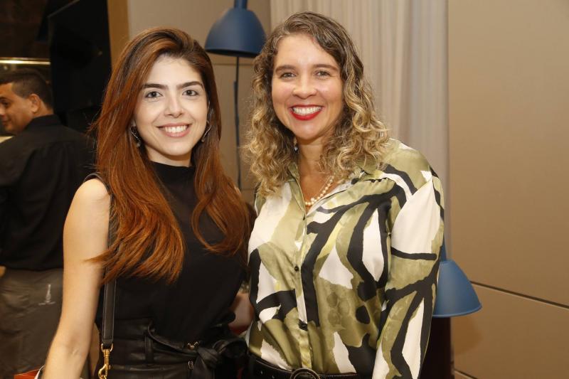 Jessica Bezerra e Marilia Aguiar