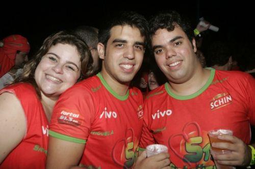 Fernanda Teixeira, Lucas e Serginho Esteves