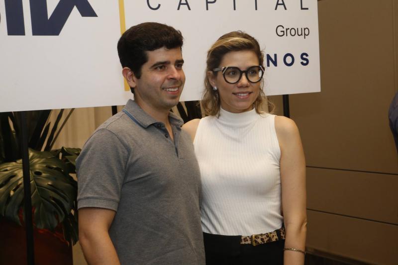 Alexsander Palacio e Priscila Novaes