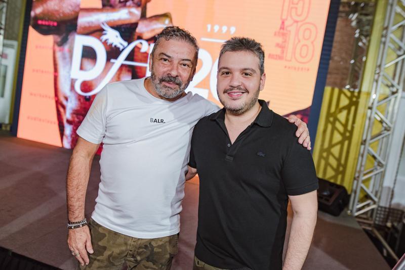 Claudio Silveira e Renato Thomaz