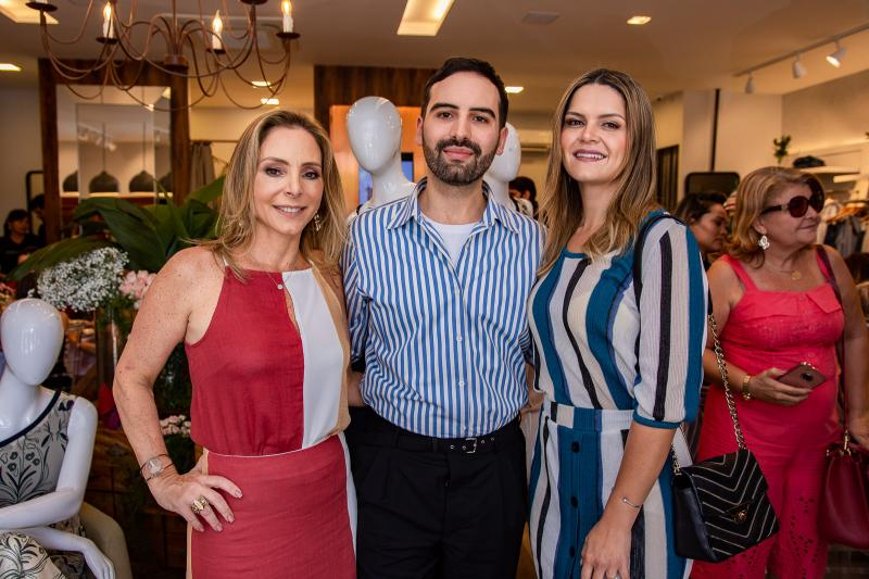 Ana Paula Daud, Andre Boffano e Renata Bezerra