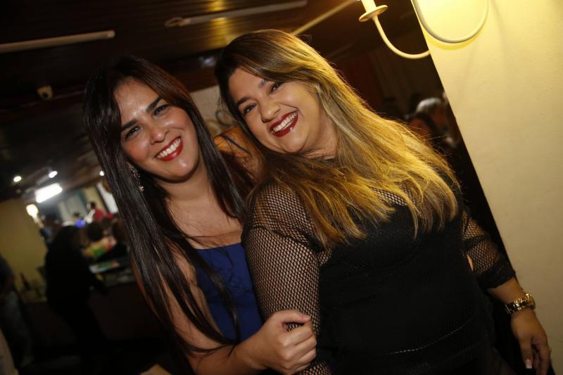 Karine Gomes e Barbara Amelia